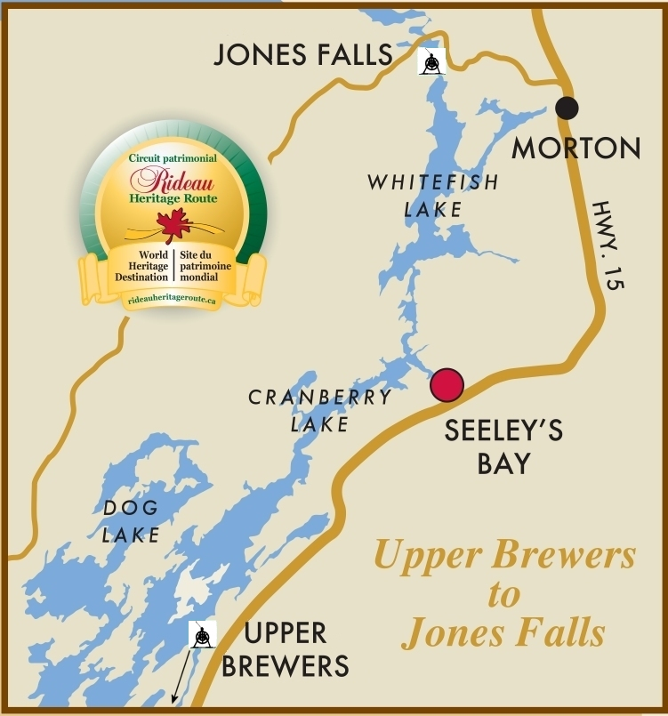 Map of Upper Brewers to Jones Fall